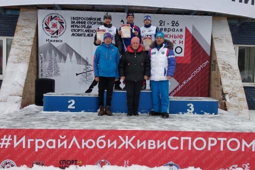 Первые всероссийские зимние спортивные игры среди спортсменов-любителей