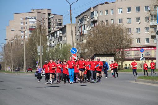 Легкоатлетический пробег Череповец-Шалимово