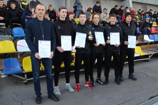 Воспитанники Центра развития футбола награждены благодарственными письмами