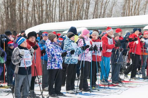 Череповецкие ветераны приняли участие в соревнованиях по лыжным гонкам